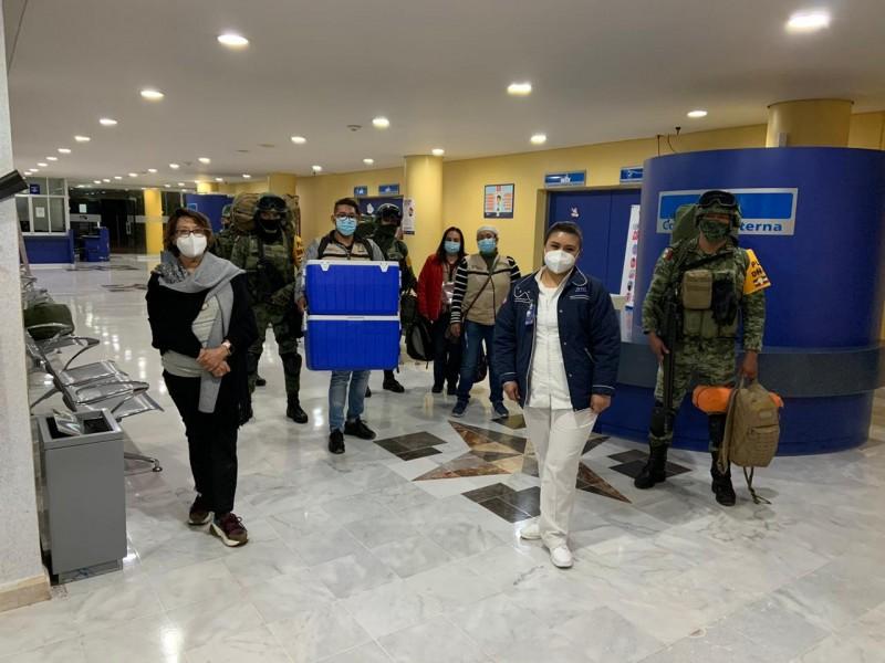 📹Comienza vacunación en Hospital General de Salamanca
