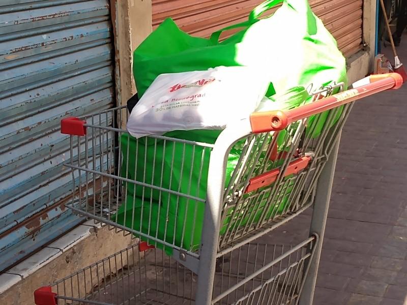 Comienzan guaymenses a adoptar uso de bolsas reutilizables