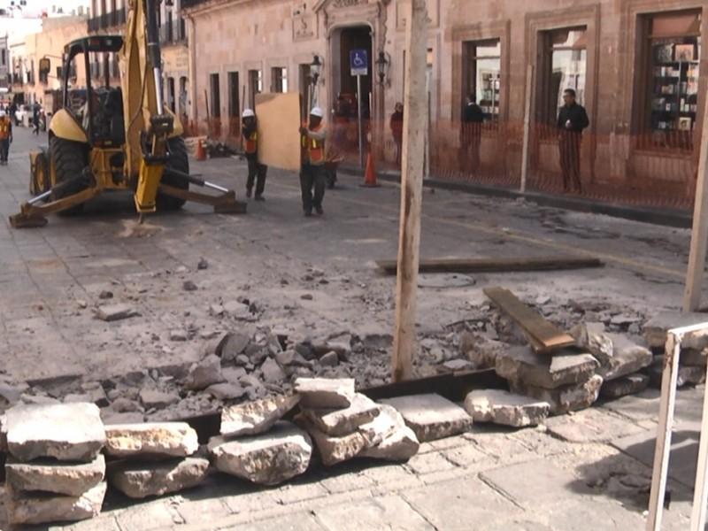 Comienzan obras en calle Allende