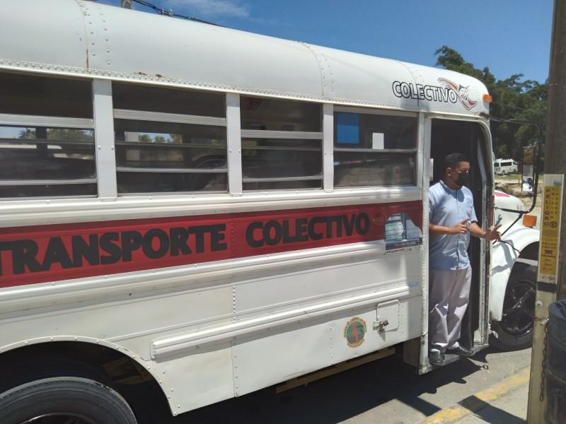 Intensifican operativos  en transporte  público