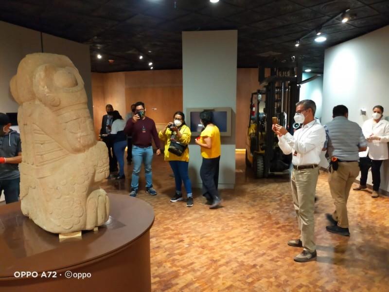 Comisarios de vigilancia emiten comunicado de piezas arqueológicas