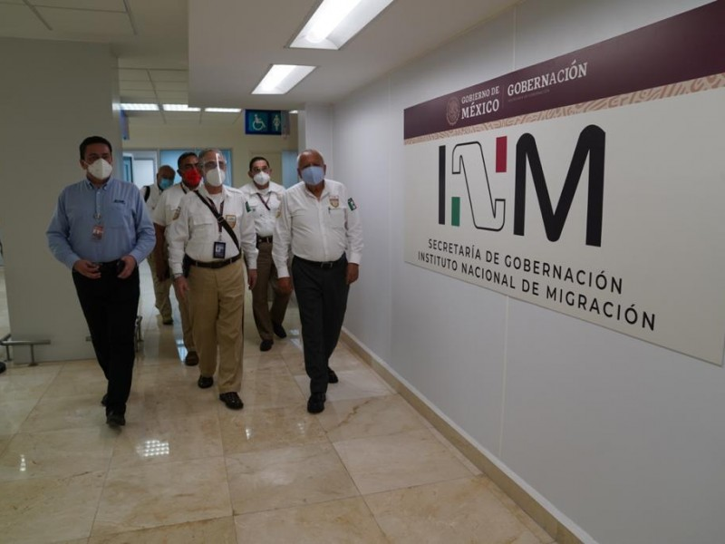 Comisionado de Instituto Nacional de Migración, realiza gira por Veracruz