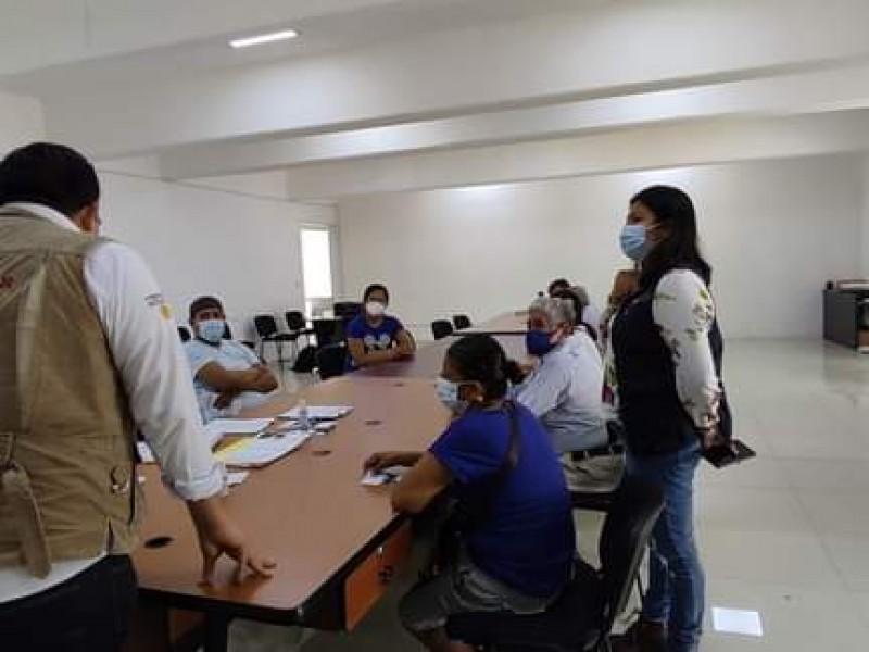 Comité de contraloría atiende denuncias por reconstrucción en Tehuantepec