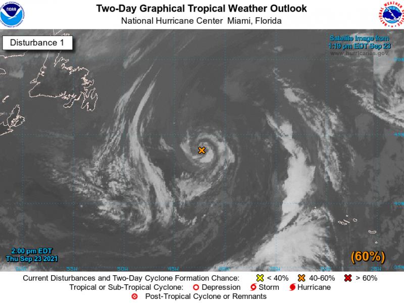 Como categoría 4, el Huracán Sam avanza por el Atlántico