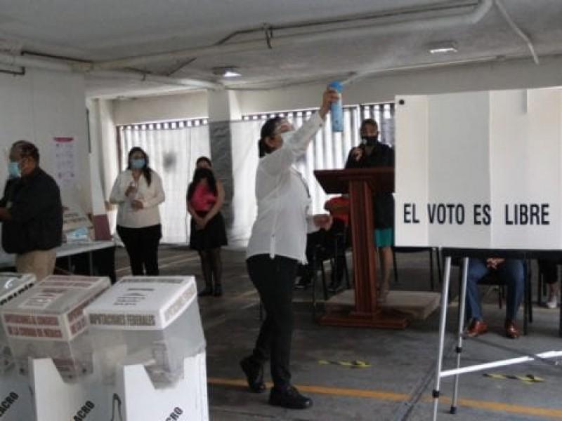 ¿Cómo cuidará el INE la bioseguridad durante las votaciones?
