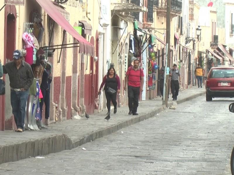 Como si no existiera aislamiento social lucen calles de Guadalupe