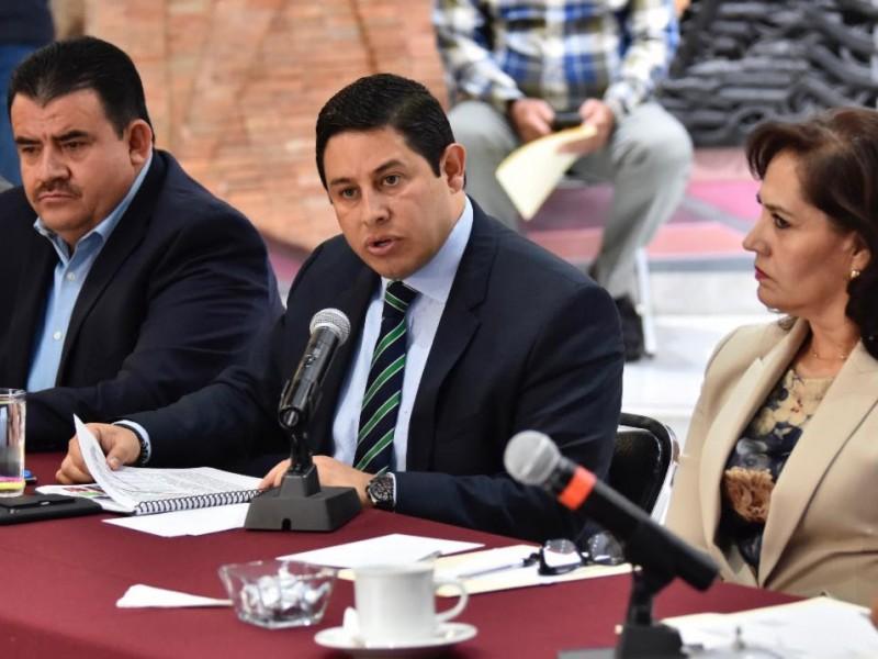Comparece Miranda Castro ante LXIII Legislatura