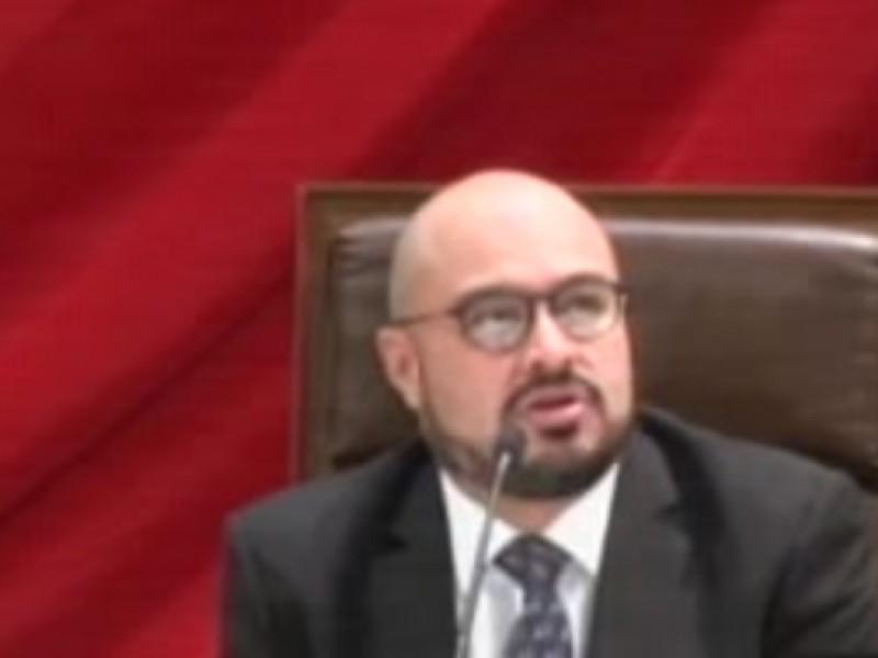 Comparece Murillo Ruiseco ante la legislatura