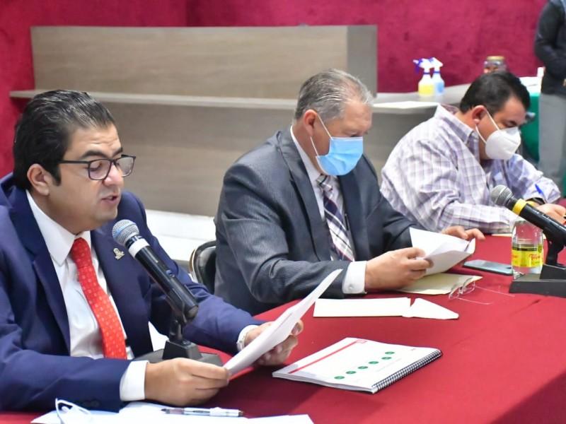 Comparece Roberto Luévano ante Legislatura