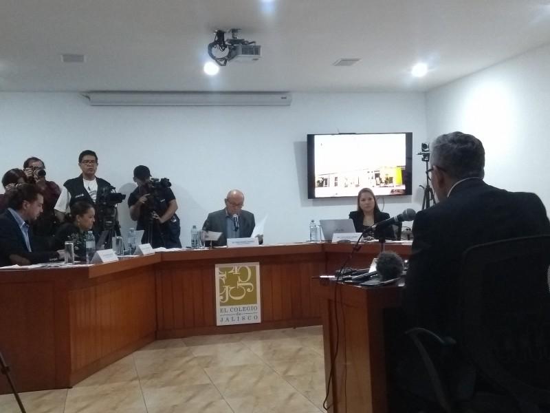 Comparecen candidatos a fiscalia de Jalisco