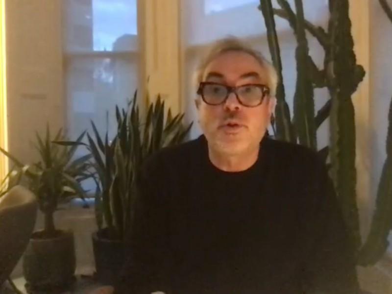 Compartirán del Toro y Cuarón charla íntima desde la virtualidad