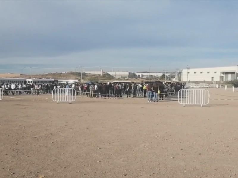 Completarán esquema de vacunación a 2 mil menores en Nogales,Arizona
