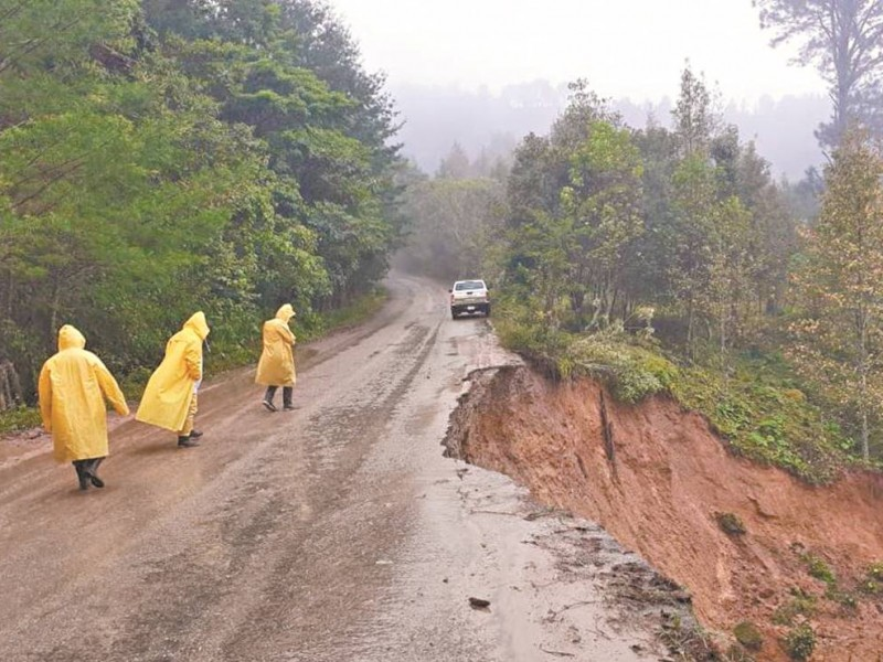 Complica estado de carreteras distribución de productos básicos