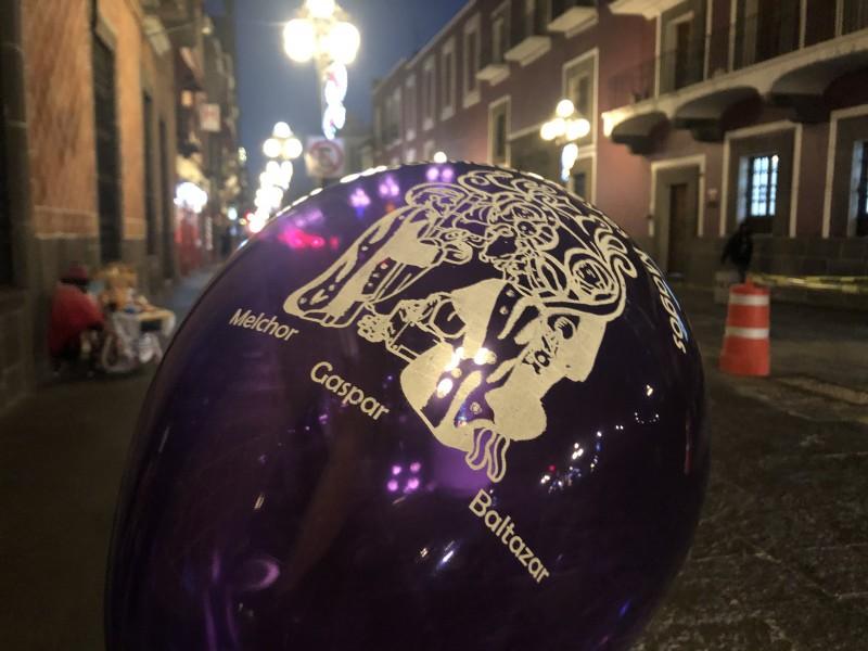 Complicado hallar un globo en temporada de Reyes Magos