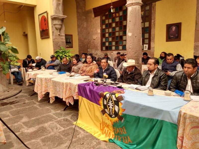 Comuneros de Nahuatzen exigen destitución de presidenta municipal