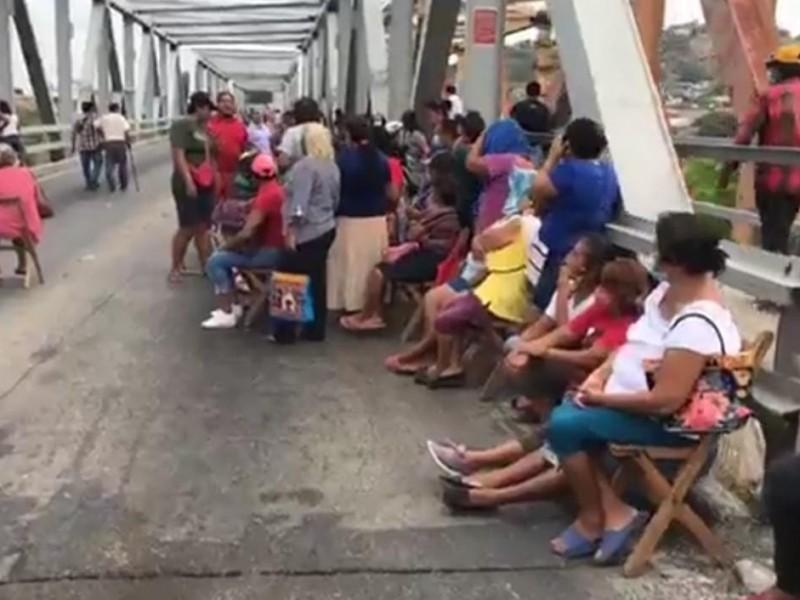 Comuneros de Tagolaba rechazan participación en bloqueo carretero