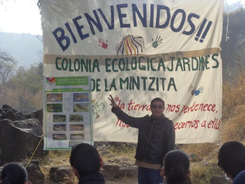 Comunidad autosustentable no contamina agua potable