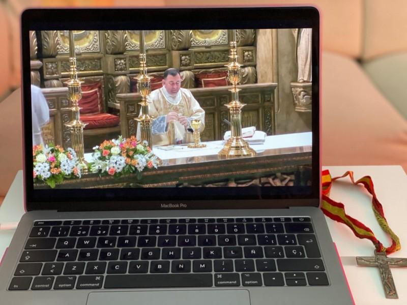 Comunidad católica celebrará la Semana Santa a distancia
