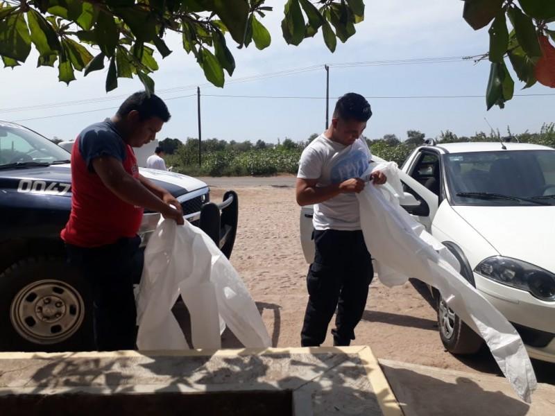 Escases de alimento provoca roces con policías en La Guásima