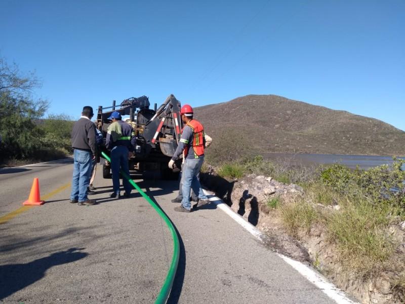 Con amenazas ejidatarios suspenden trabajos de obra cable submarino