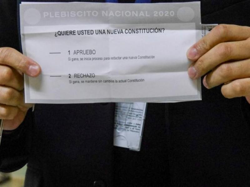 Con aplastante mayoría Chile aprueba redactar nueva constitución