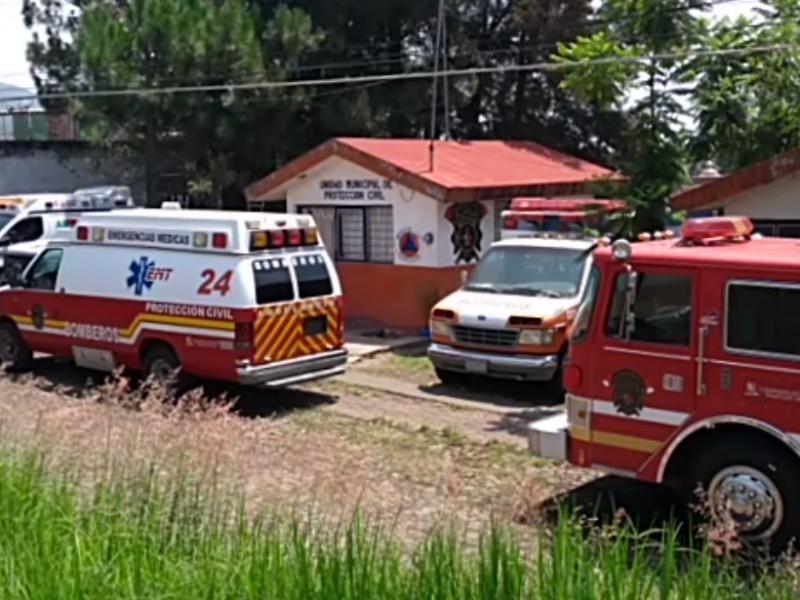 Con carencias operan el Cuerpo de Bomberos Tangancícuaro