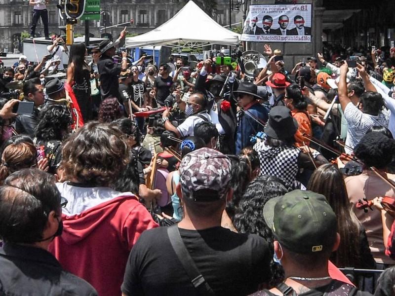 Con concierto, Maldita Vecindad promueve consulta popular en plena pandemia