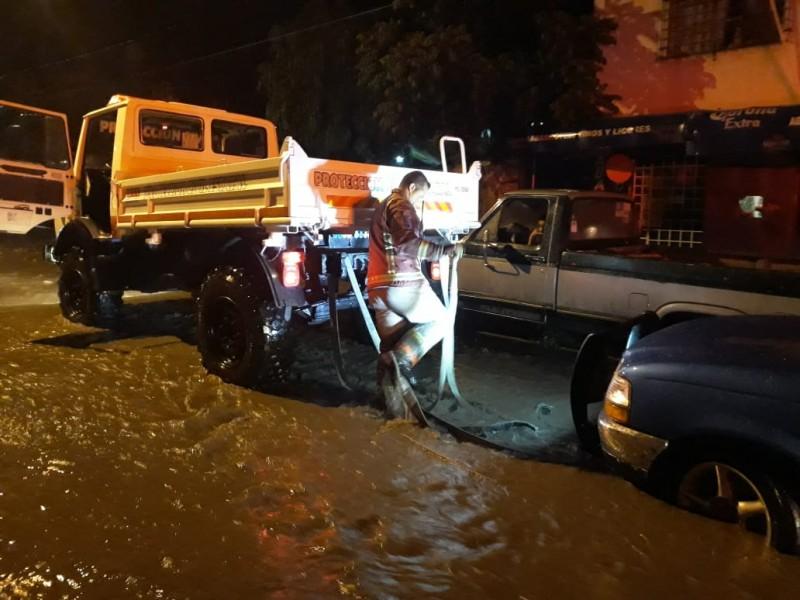 Con daños, 10 colonias de Morelia tras lluvias