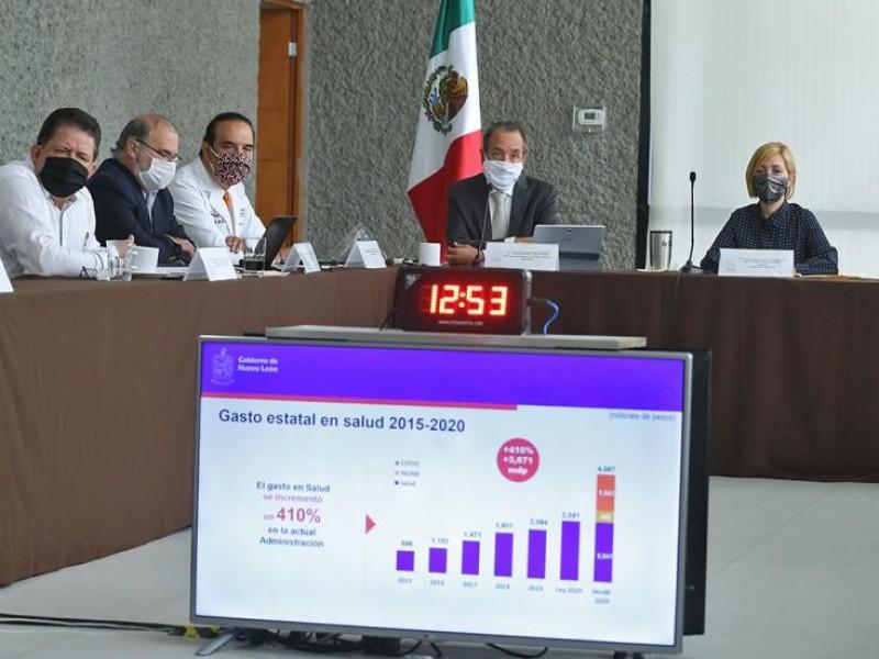 Con dinero de refrendo se comprarán vacunas en Nuevo León