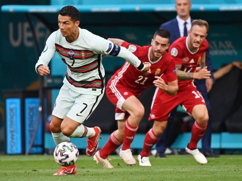 Con dos de Cristiano Ronaldo, Portugal venció 0-3 a Hungría