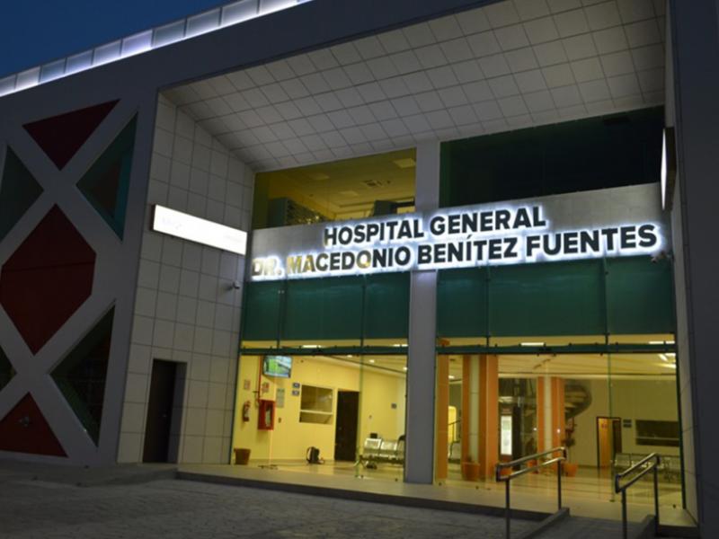Con el 100% de ocupación hospitalaria opera el hospital MBF