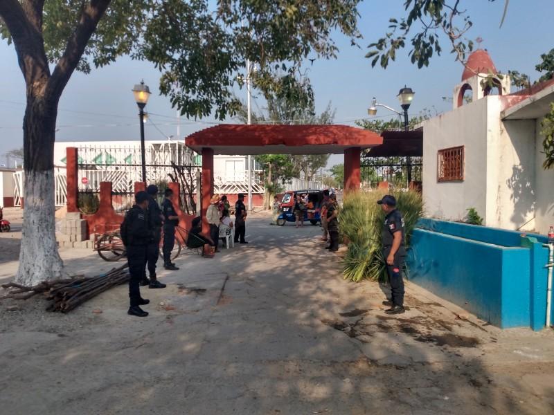 Con elementos de seguridad resguardarán panteones de Juchitán