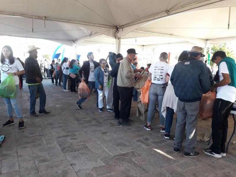 Con éxito Street Store en Guaymas