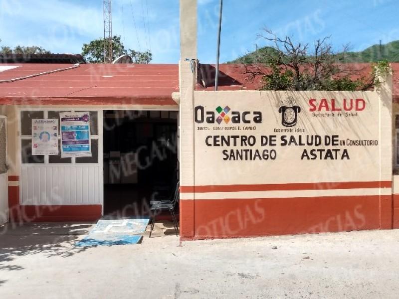 Con falta de insumo opera el Centro de Salud, Astata