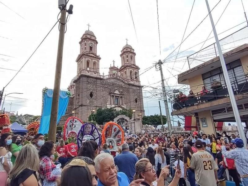 Con gran afluencia realizan fiestas patronales en Sahuayo