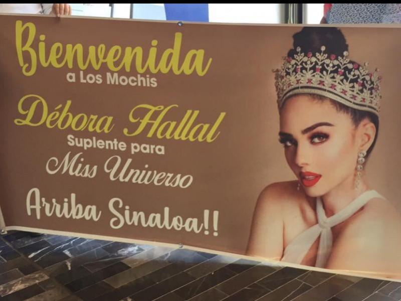 Con gran orgullo Mochitenses reciben a Débora Hallal