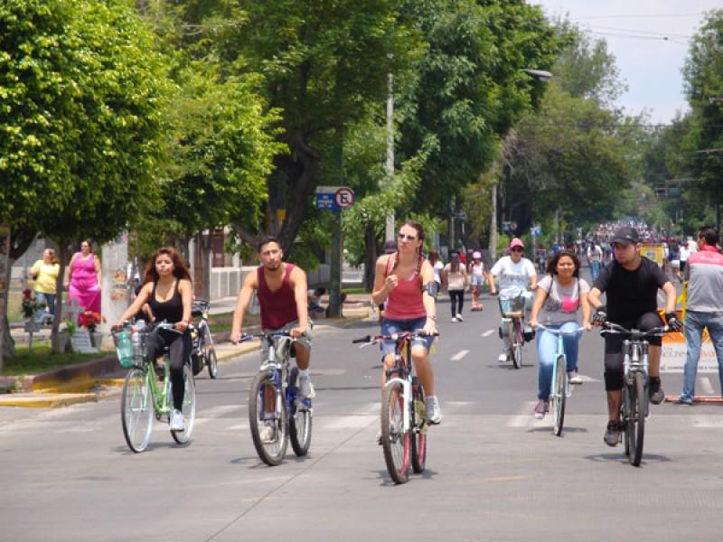 Con medidas, regresa la vía recreactiva a Guadalajara
