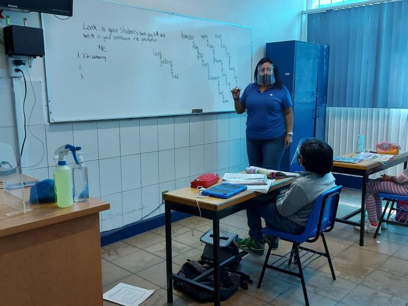 Con medidas sanitarias, colegio inició grupos de acompañamiento