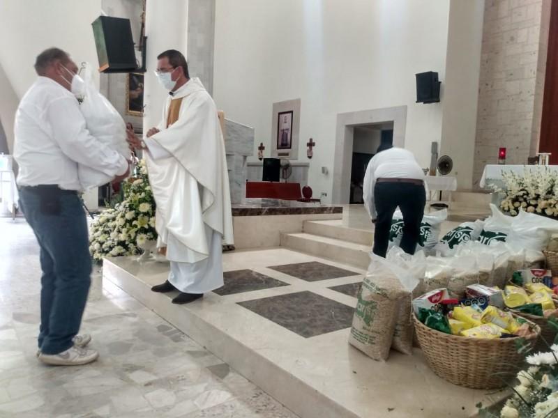 Con misa celebran el Día del Agricultor, piden por lluvias