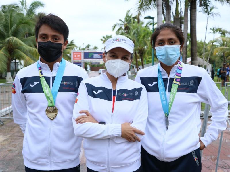 Con oro y plata oaxaqueños abren pase a Juegos Nacionales