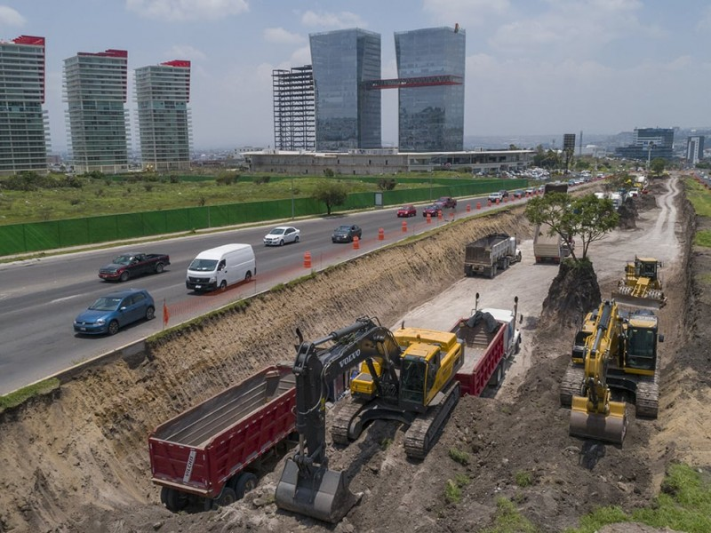 Con poco trabajo sector de la construcción