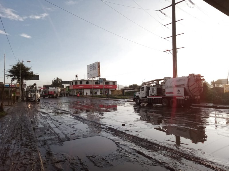 Con pocos resultados cárcamo de San Mateo Atenco