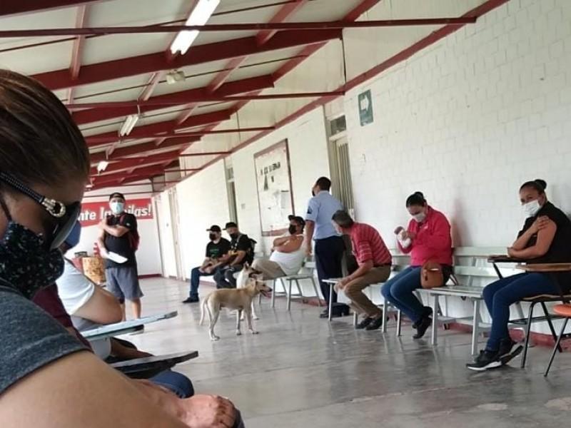 Con rapidez avanza proceso de vacunación 30-39 en Guaymas