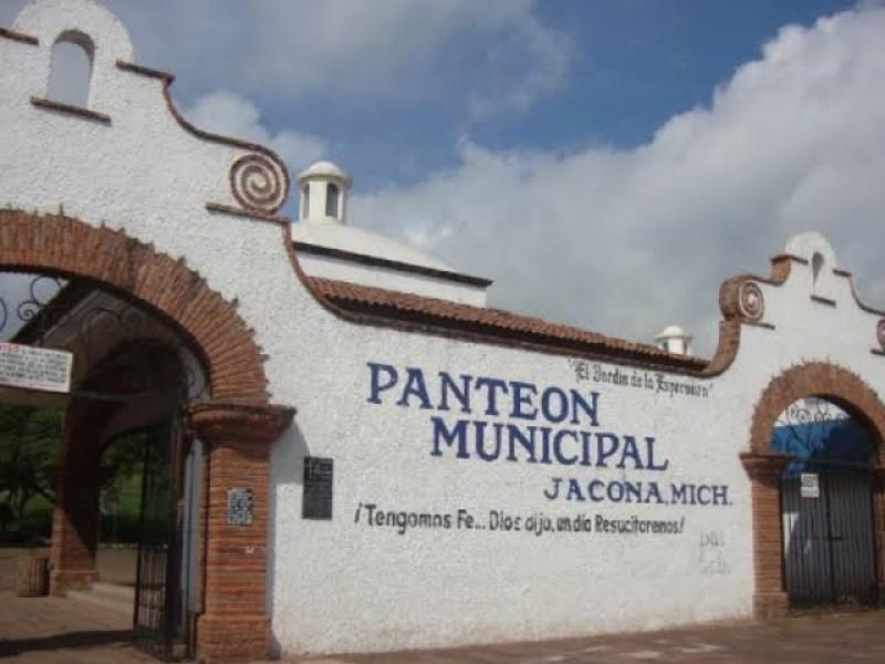 Con restricciones, abrirá panteón de Jacona este 10 de mayo