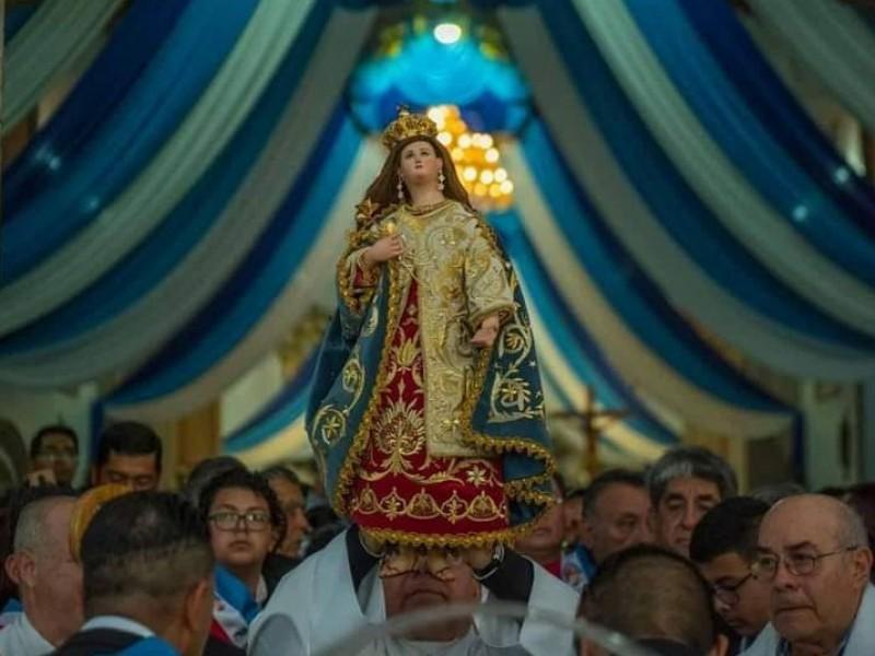 Con restricciones sanitarias realizan fiestas patronales en Jacona