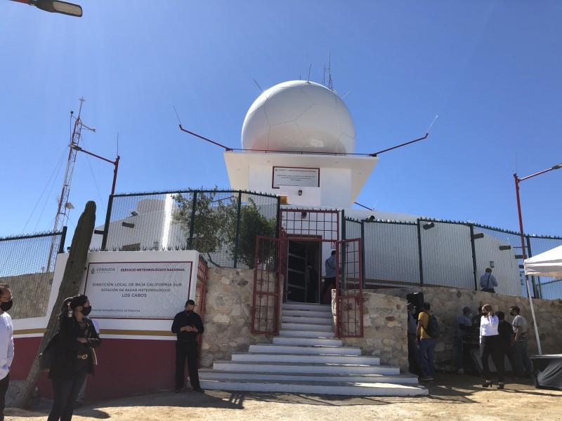 Conagua  inaugura radar metereológico en CSL
