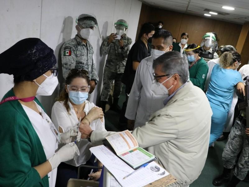Concluyó Sinaloa aplicación de primeras dosis de la vacuna COVID