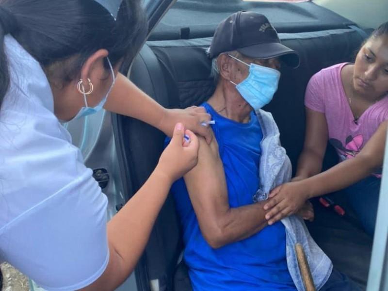 Concluye aplicación de segunda dosis Covid en Tuxtla Gutiérrez