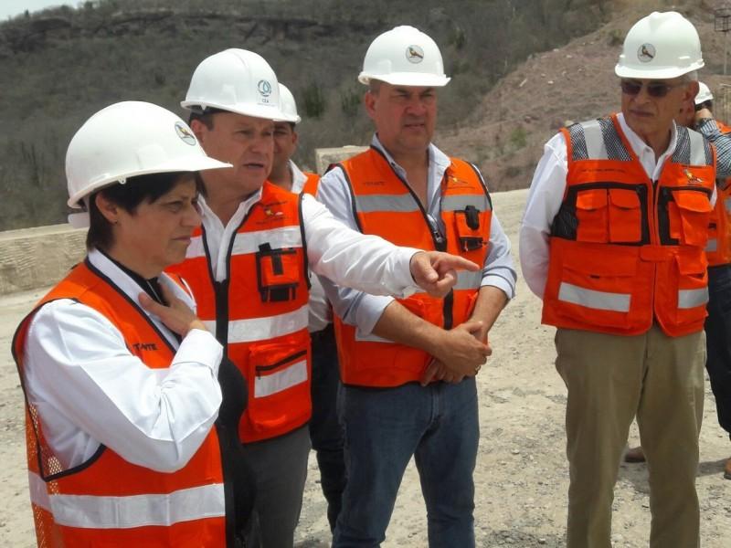 Concluye construcción de Presa Bicentenario en Álamos