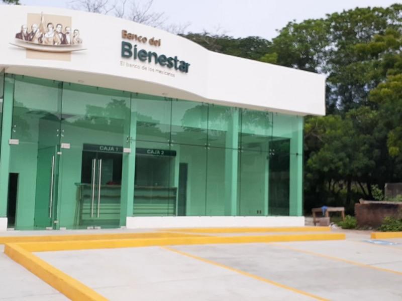 Concluye construcción de sucursales bancarias en Salina Cruz y Huamelula